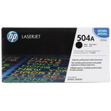 惠普(HP)CE250A 黑色硒鼓 504A(适用HP Color LaserJet CP3525 3525n 3525dn)