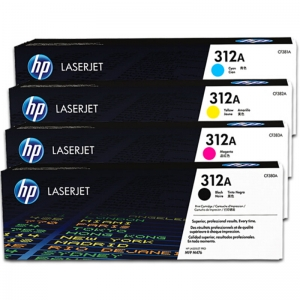 惠普(HP)CF380A-CF383A 黑彩套装硒鼓 312A(适用HP Color LaserJet MFP M476)