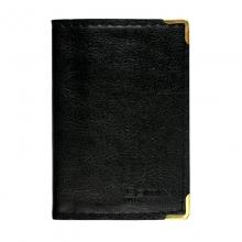 齐心(Comix)NU36 可放36枚 便携式软皮名片册/名片夹 单格 黑色
