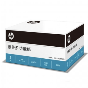 惠普(HP)A3 70g 多功能复印纸 5包装