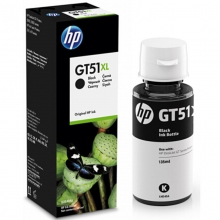 惠普(HP)X4E40AA 黑色墨水瓶 GT51XL(适用于HP GT5810/GT5820)