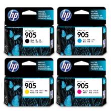 惠普(HP)905 黑彩四色套装墨盒(适用于HP OJ6960/6970)