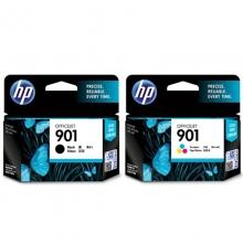 惠普(HP)901 黑彩套装墨盒(适用HP Officejet J4580 J4660 4500)