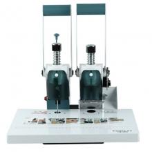 齐心(Comix)CM-3008 手动打孔热熔铆管凭证装订机/财务装订机 打孔装订30mm 适用铆管4.8mm