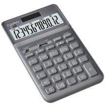 卡西欧(CASIO)JW-200SC-GY stylish时尚摇头式计算器 12位 铂晶银