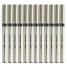三菱(UNI)UB-177 直液式中性笔/耐水走珠笔 0.7mm 黑色 12支装
