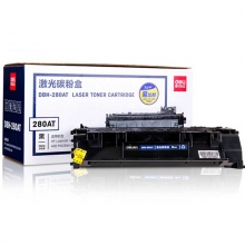得力(deli)DBH-280AT 黑色硒鼓/激光碳粉盒(适用适用惠普HP LaserJet 400 M401n/d/dn/dw 400 M425dn/dw)