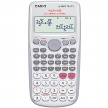 卡西欧(CASIO)FX-82ES PLUS A 函数科学计算器 英文版 白色