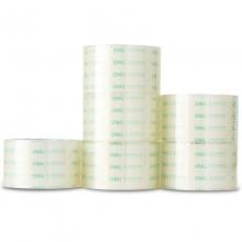 得力(deli)30320 透明封箱胶带/宽胶带 60mm*30y*50um(27.4m/卷) 6卷/筒
