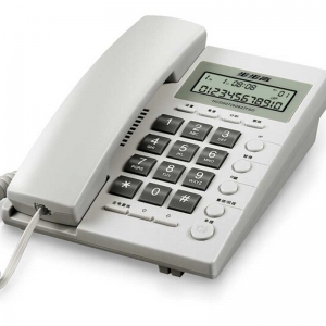 步步高(BBK)HCD6082 来电显示固定电话机/座机 座式壁挂式双用(白色)