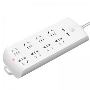 公牛(BULL)GN-B208U 新国标带USB插座/插线板/接线板 8位总控 3米