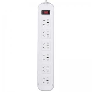 突破(TOP)T1K6 新国际电源插座/插线板/接线板 10A 六位总控 3米