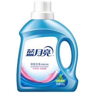 蓝月亮 深层洁净护理洗衣液 2kg/瓶