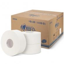 心相印 ZB006 大盘卷纸大卷纸商务用纸酒店厕纸卫生纸 3层*220米/卷 12卷/箱