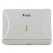 白云(BAIYUN)AF10503 方形擦手纸盒/擦手纸箱/擦手纸架纸巾架 白色