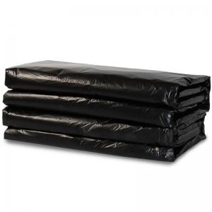 国产 平口大号加厚垃圾袋 120cm*140cm 黑色(普通款)500只/袋(整袋出售)