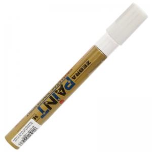 斑马(ZEBRA)MOP-200M PAINT 油漆笔/补漆笔/记号笔/签名签到笔(金色)
