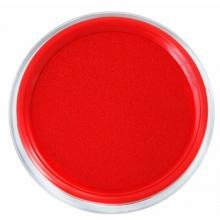 雅齐利(YAQILI)1068 透明圆形快干印台/印泥 68mm 红色