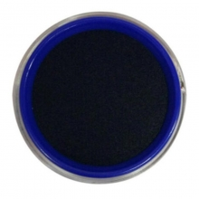 雅齐利(YAQILI)1068 透明圆形快干印台/印泥 68mm 蓝色