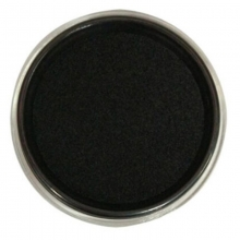 雅齐利(YAQILI)1068 透明圆形快干印台/印泥 68mm 黑色