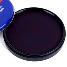 雅齐利(YAQILI)1070 铁盒圆形秒速干印台/印泥 70mm 蓝色