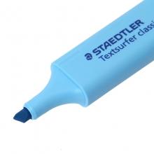 施德楼(STAEDTLER)364-3 隐形喷墨荧光笔彩色重点标记笔 1-5mm 蓝色