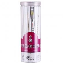 中华(GHUNG HWA)536 五星特种铅笔/彩色铅笔/玻璃笔/石材笔 白色 50支装