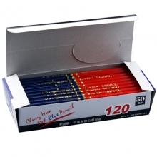 中华(GHUNG HWA)120 HB 红蓝双头铅笔/双色铅芯/彩色铅笔/特种铅笔 50支装