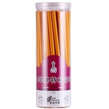 中华(GHUNG HWA)536 五星特种铅笔/彩色铅笔/玻璃笔/石材笔 黄色 50支装