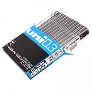 三菱(UNI)UL-1403 自动铅笔芯/铅芯 HB 0.3mm 12根*12片/盒